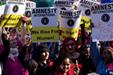 Protesta contra la violencia hacia la mujer en EE.UU (Foto: Sarah K. Eddy)