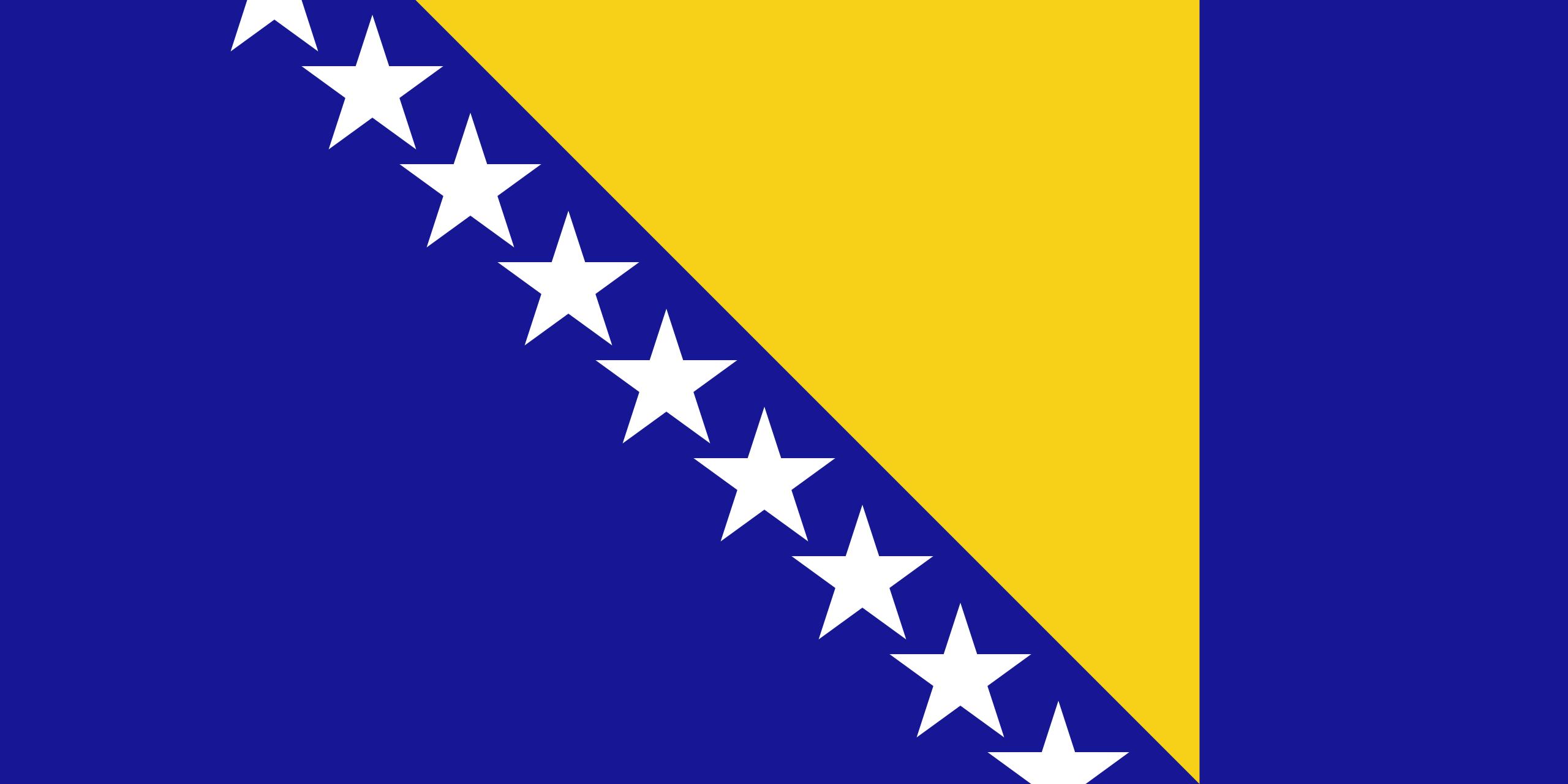 Bosnia y Herzegovina - bandera