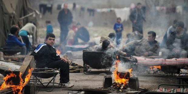 @NIKOLAY DOYCHINOV/AFP/Getty Images