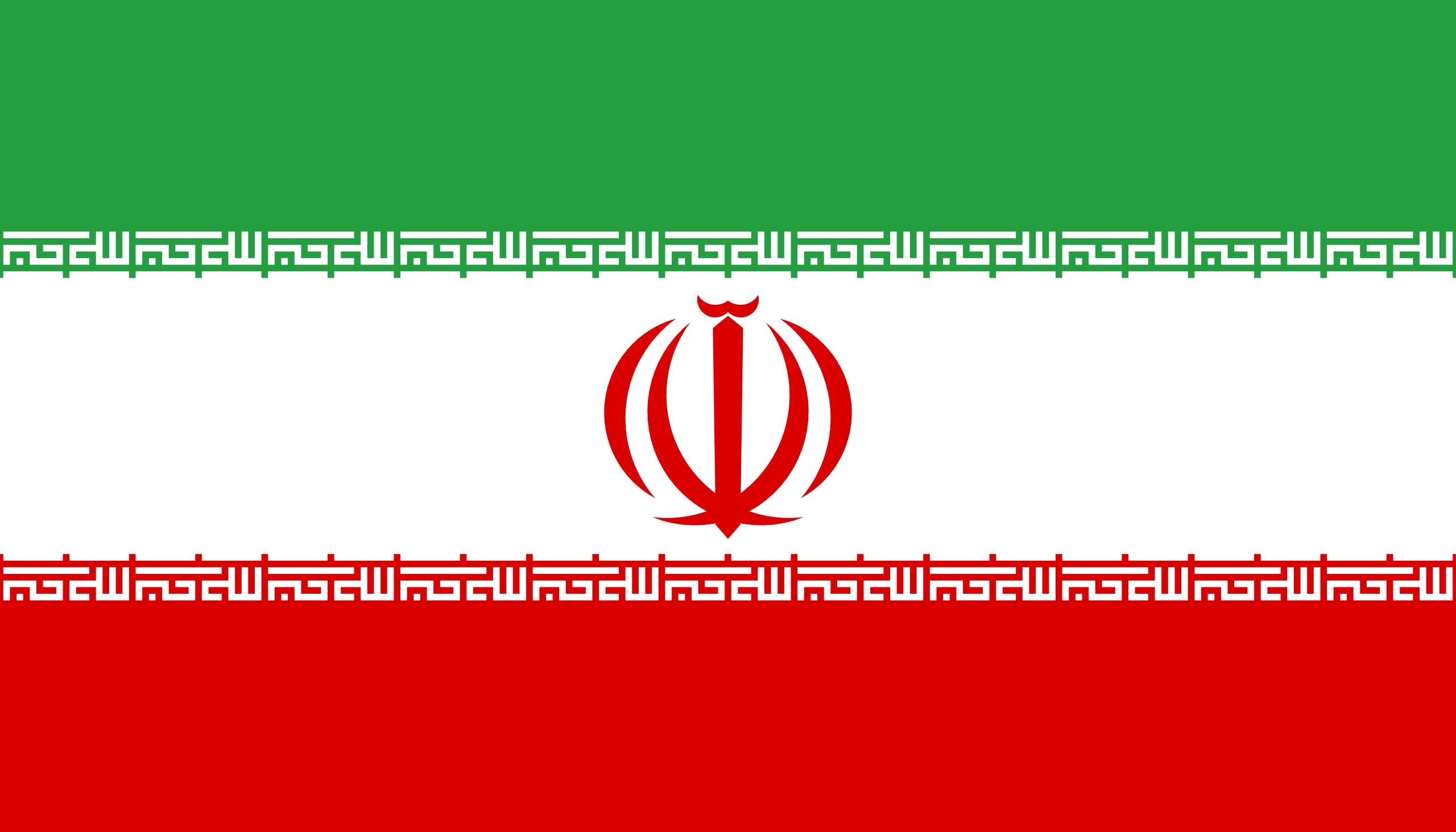 Irán - bandera
