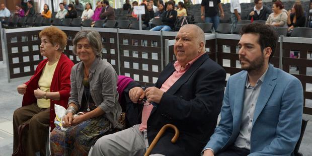 Leopoldo García superviviente de tortura en Chile