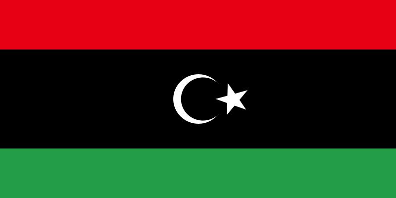 Libia - bandera