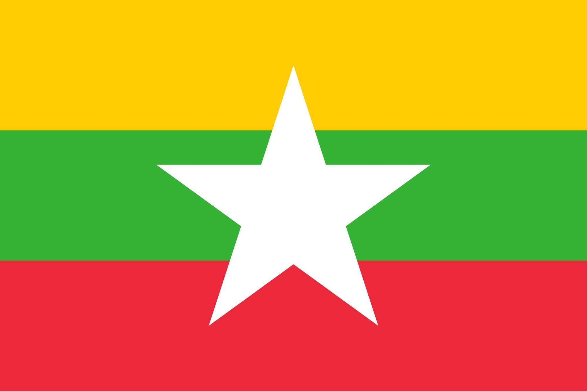 Myanmar  - bandera