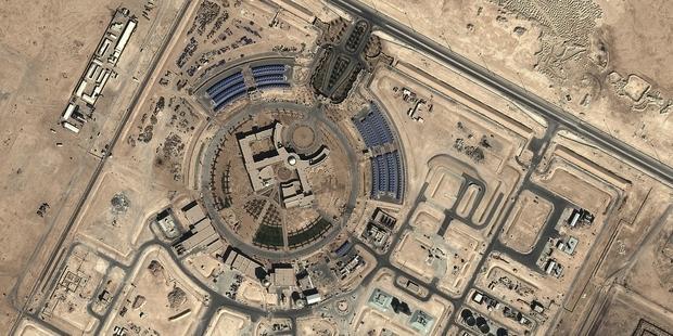Migrantes contratados por la empresa Krantz Engineering trabajaron en la Escuela Universitaria de Servicios de Seguridad y Emergencias Ras Laffan, en Qatar.