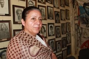 Bertha Oliva, coordinadora del Comité de Familiares de Detenidos Desaparecidos en Honduras (COFADEH) © Amnistía Internacional