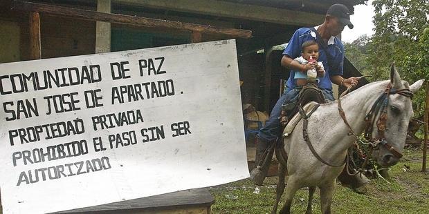 Colombia - San Jose de Apartado - @Gerardo Gomez-AFP-Getty Images
