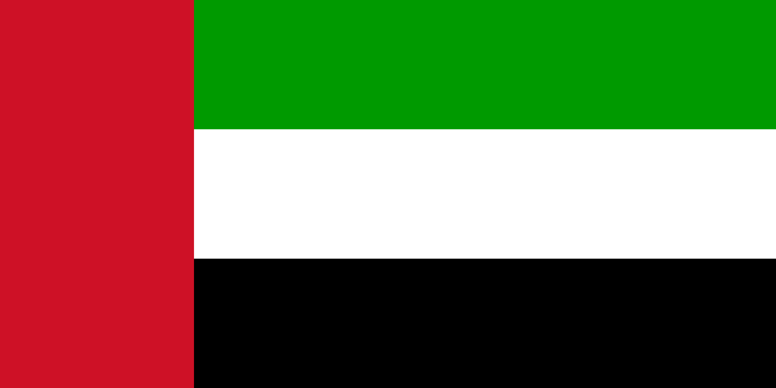 Emiratos Árabes Unidos - bandera