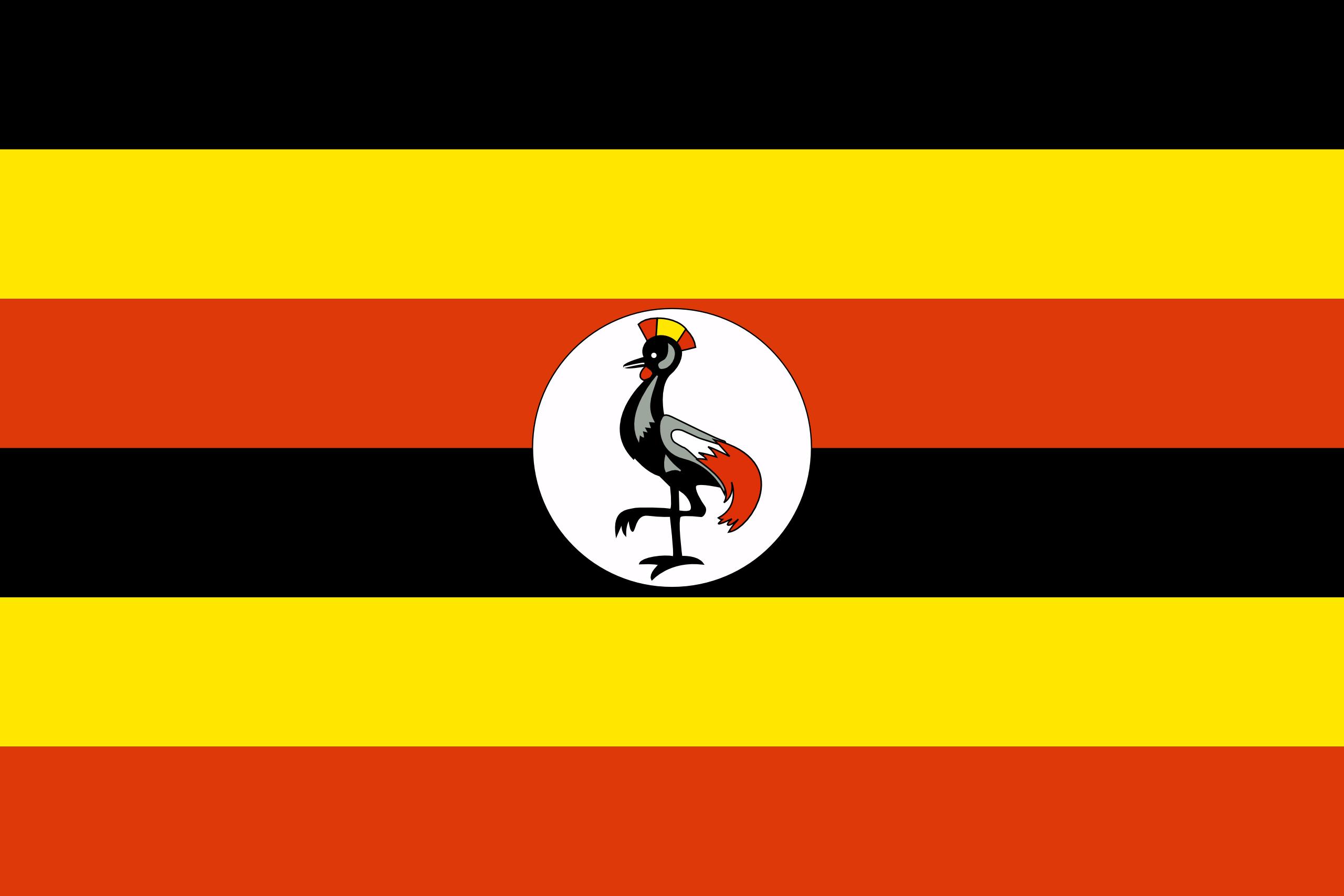 Uganda - bandera