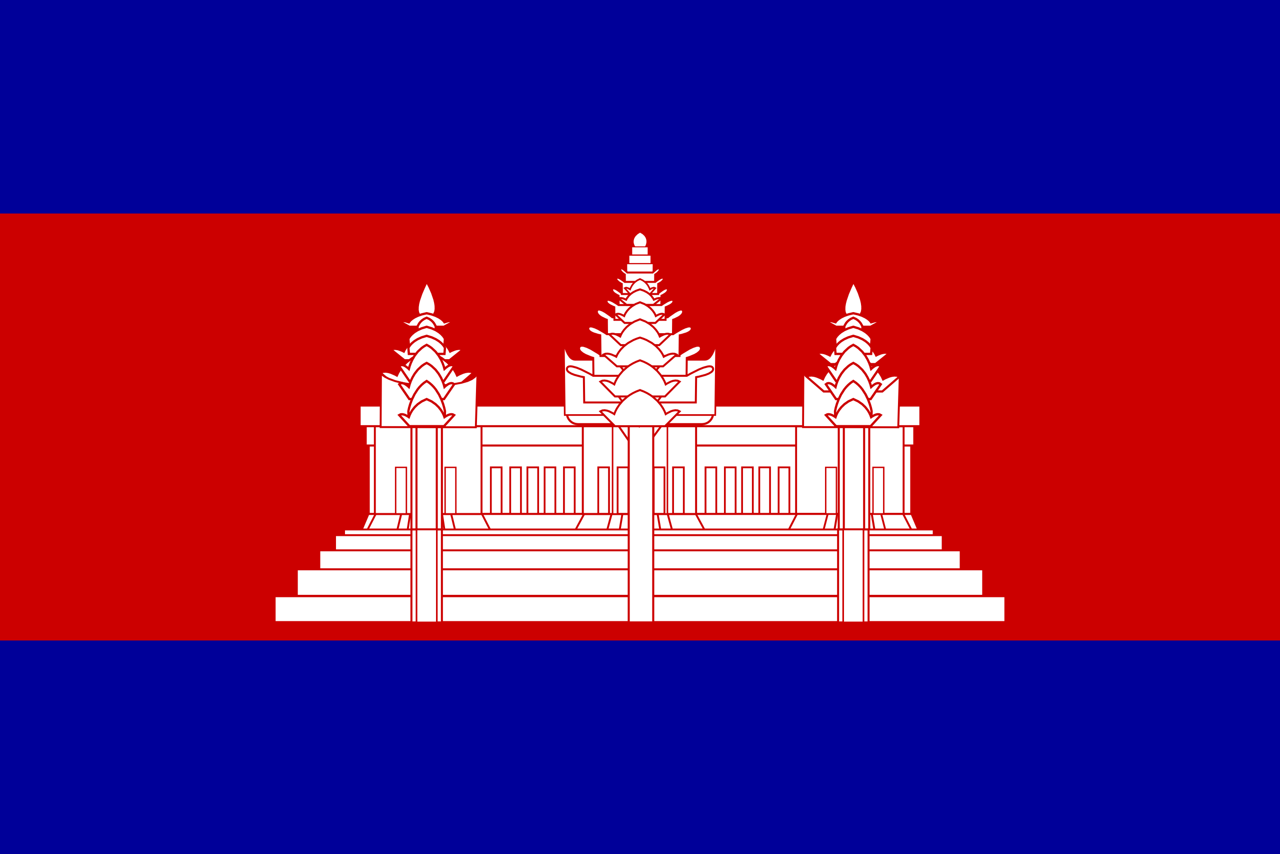 Camboya bandera