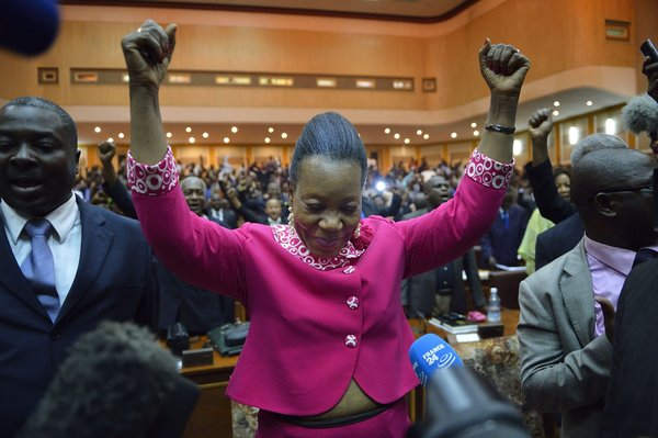 CENTRAFRICA-UNREST-PARLIAMENT-VOTE-RESULT
