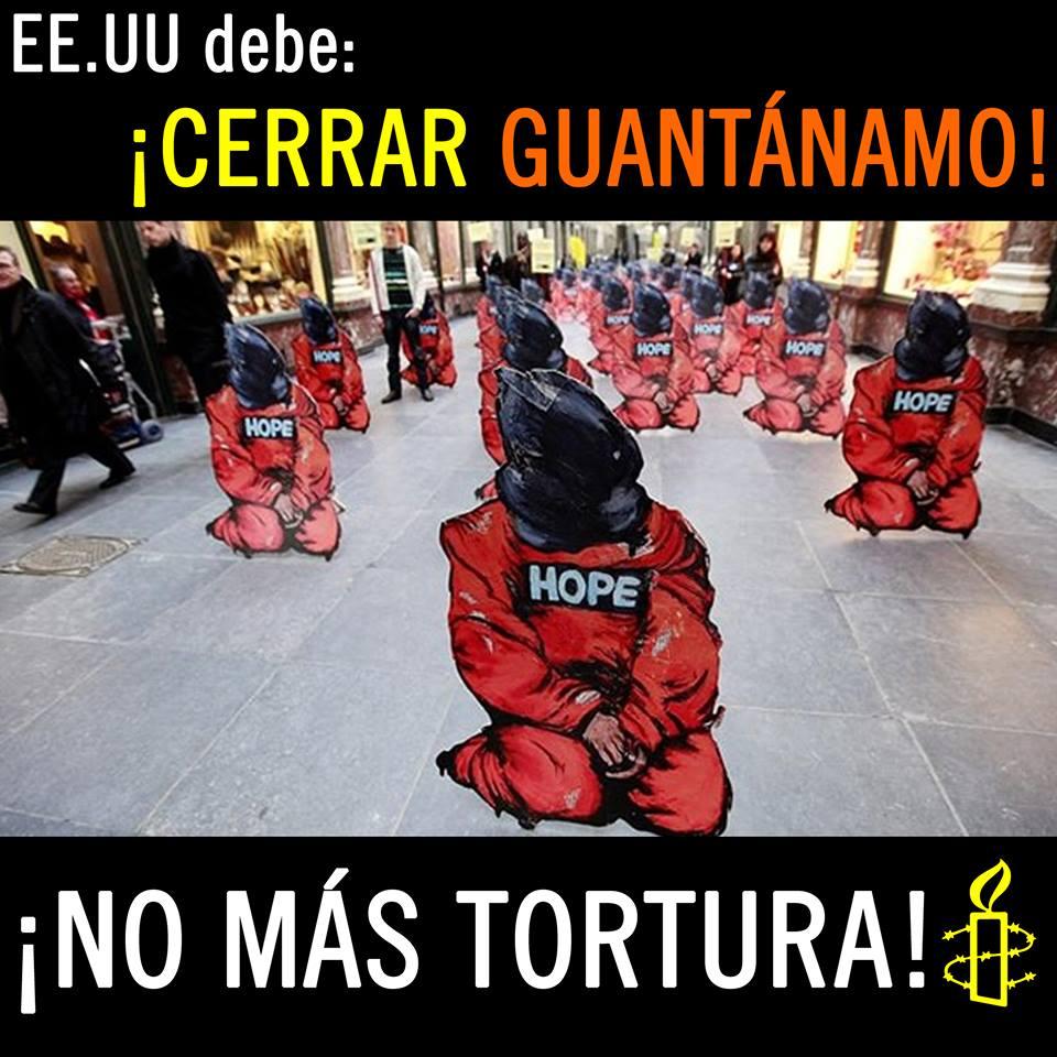 Guantánamo - no más tortura