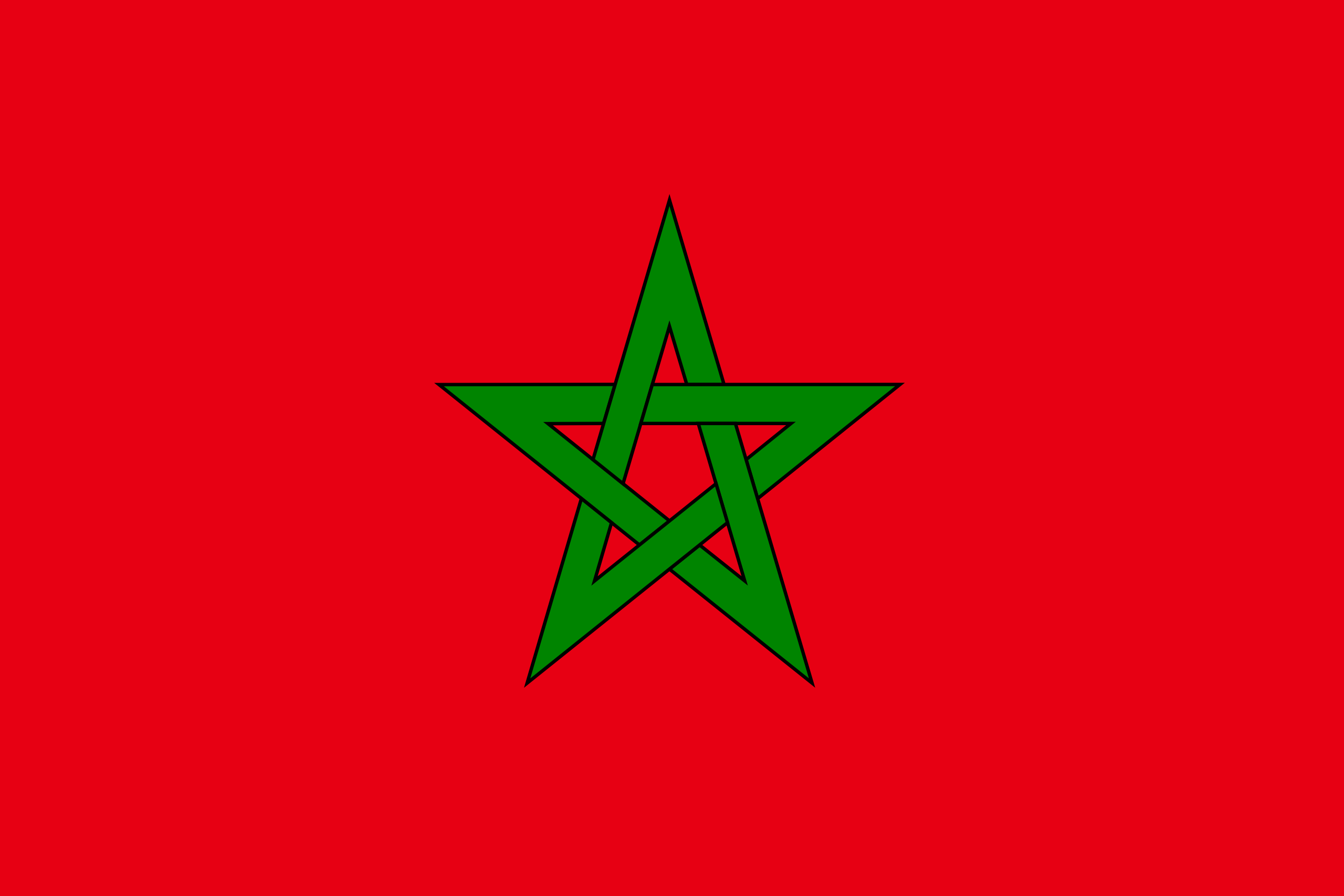 Maruecos - bandera