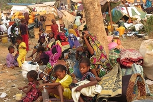 Displaced Muslims in Central African Republic