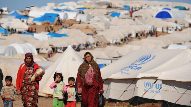 Siria - refugiados