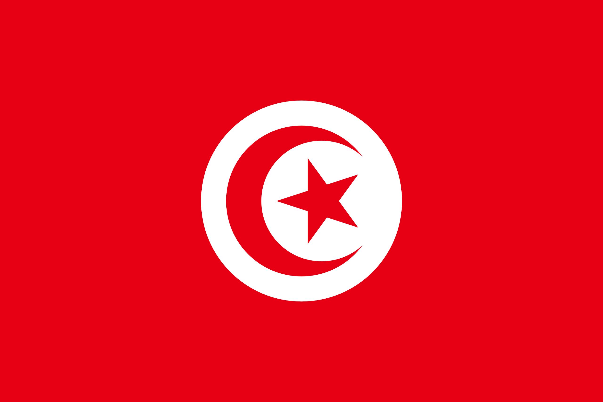 Túnez - bandera