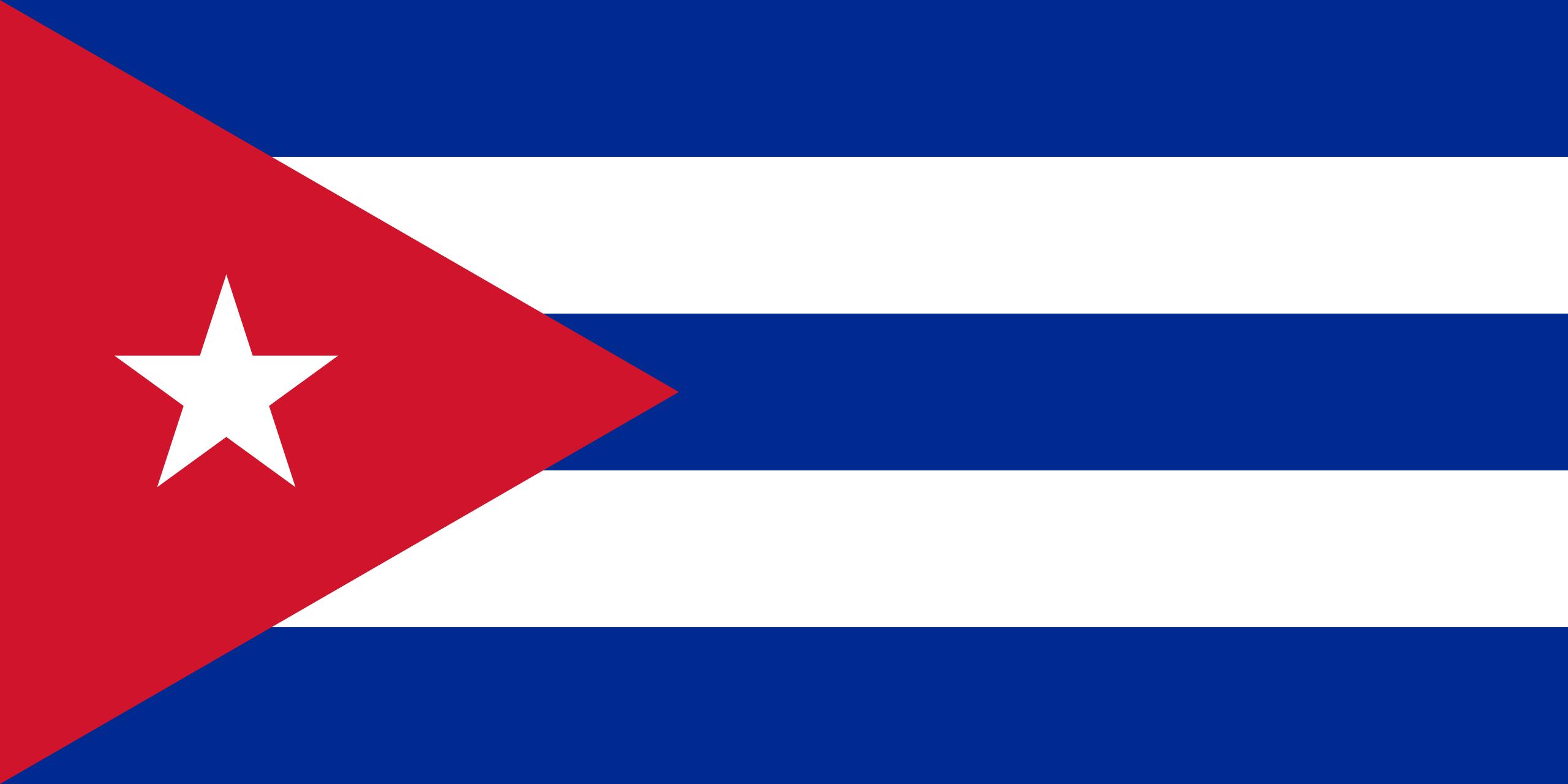 cuba - bandera