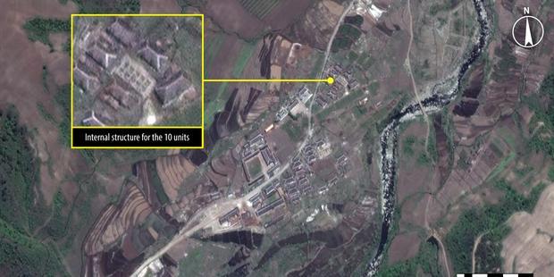 Corea del Norte - Kwanliso campo de concentración 26 de mayo 2013 - @DigitalGlobe 2013
