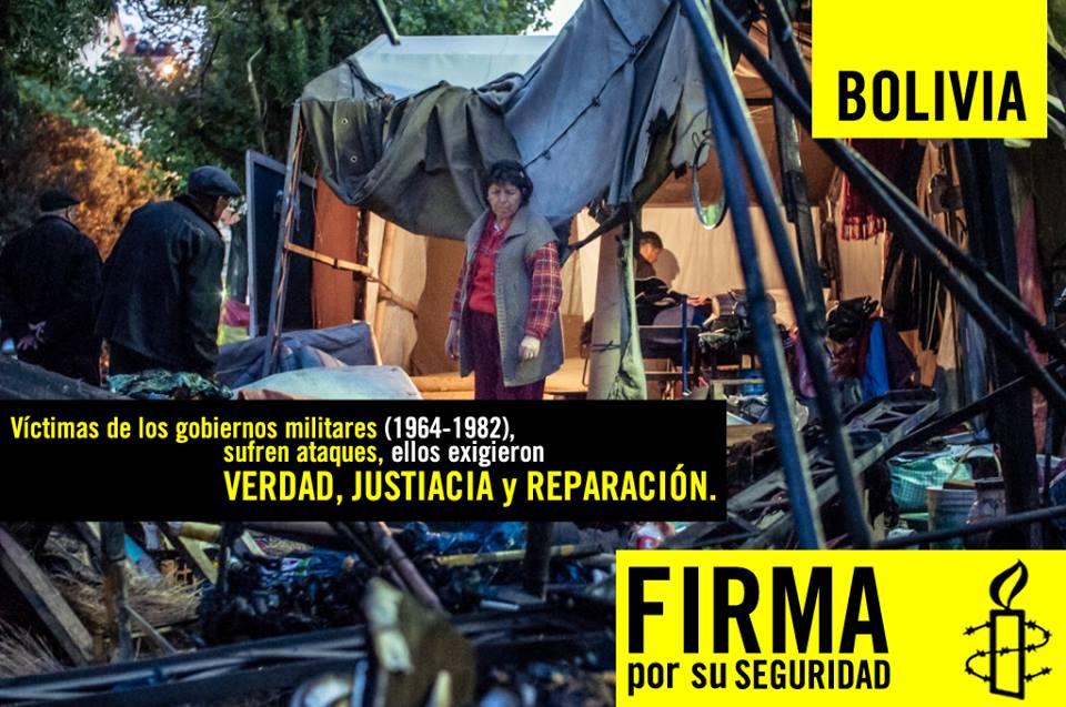 Bolivia - verdad, justicia, reparación