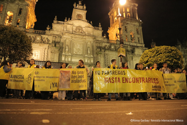 Marcha Ayotzinapa México