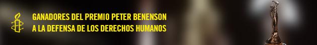 Ganadores del Premio Peter Benenson a la Labor Periodística Comprometida con los DD.HH