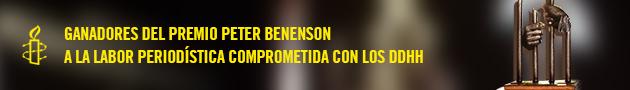 Ganadores del Premio Peter Benenson a la Defensa de los Derechos Humanos